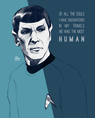 For Leonard Nimoy by pai-draws