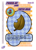 Super Leaf Card by CristopherOS
