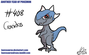 Another year of pokemon: #408 Cranidos
