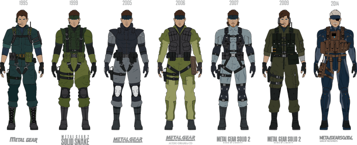 Solid Snake Evolution by efrajoey1