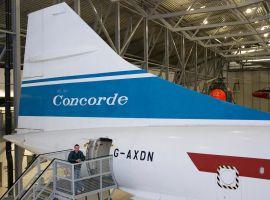 Me and Concorde by captainflynn
