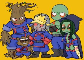 Guardians of the Galaxy by kaiko6
