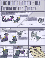 The King's Gambit Mission 4.1 by CyndersAlmondEyes
