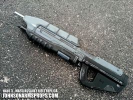 Halo MA5C Assault Rifle Replica - Standard Issue by JohnsonArmsProps