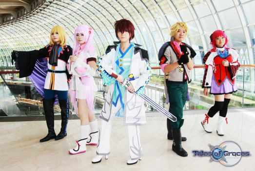 ToG Group cosplay by aki-lhant