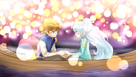 SorMik Tangled AU Collab by ChiuuChiuu