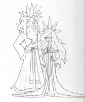 Bath Citizens: King Ambergris 3rd and Queen Myrrh by bluestarproduction
