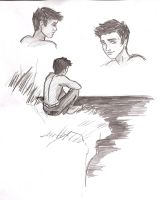 Jacob Black Sketches by SwissDutchess