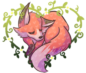 Sleepy Heart Fox (+RB) by MynnuB