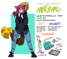 Meet the Artist! by Mintymaid
