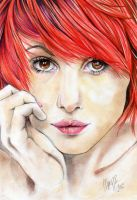 Red-haired Girl by Marzzunny