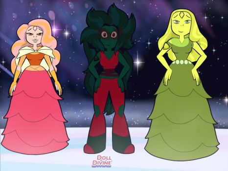 morganite bloodstone and Chrysolite ADOPTS - OPEN  by SpelloftheDead