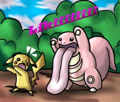 attack of the lickitung