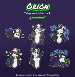 Orion Sticker pack by LicosAragon