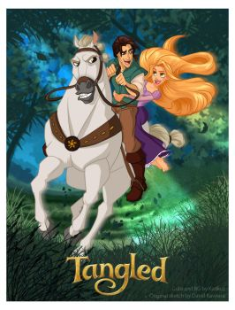 Tangled Collab by Katikut