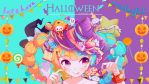 Colorful Halloween Wallpaper by MayMugiLee