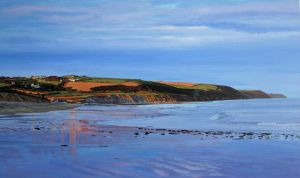 Evening Glow On Knockadoon Peninsula by eastcorkpainter