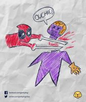 Infinity Ouchie! by Geekydog