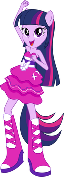 Twilight Sparkle Dance Vector UPDATE V2 by Sugar-Loop