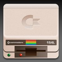 Commodore 64 disk drive icon by alreadysalted