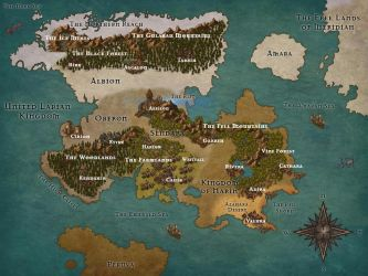 Map of Etheria (WIP) by savrom