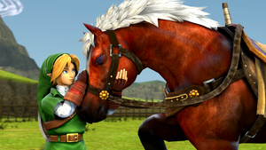 Link and Epona by Colonelsonicmaster