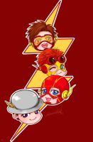 the Flash Family by sherrill018
