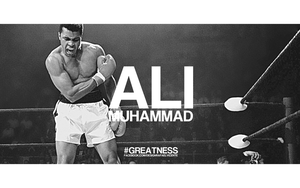 MUHAMMAD ALI #GREATNESS by RafaelVicenteDesigns