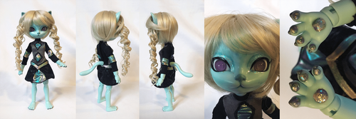More BJD kitties! by Evilunicorn97