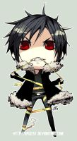 Izaya Sticker by GEISTROCK