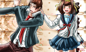 Haruhi for my Club by Frost7