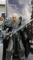 Arthas cosplay by Aoki-Lifestream