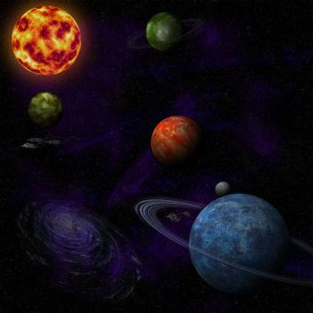 planets by L-exandra