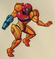 Samus by Kneesocksx