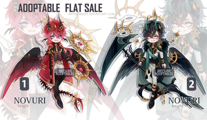 [closed] NOVURI species - FLAT SALE by aritsuneart