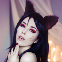 Ahri makeup test by Helen-Stifler