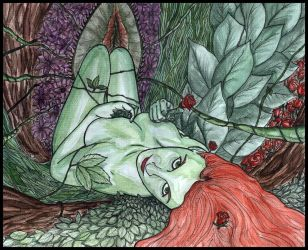 Poison Ivy - ninjavitis by kissing-ivy