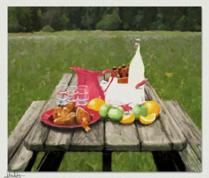 A picnic awaits... by usualday