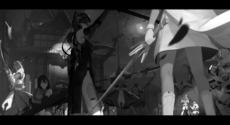 Stand off by dishwasher1910