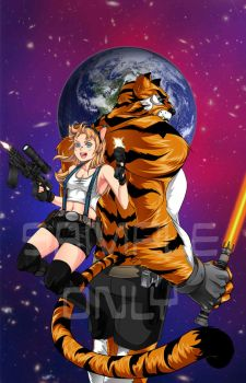 Galaxy Tiger Cover by Ah-Mon