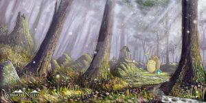 Totoro's forest by Syntetyc