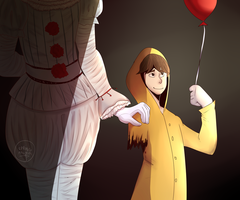 [FanArt] Pennywise and Georgie by springanima