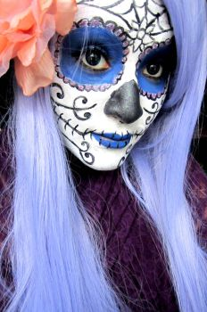 Halloween Sugar Skull 2 by jessibaxx