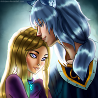 Contest Entry- Rima and Enzo by LaraHemille