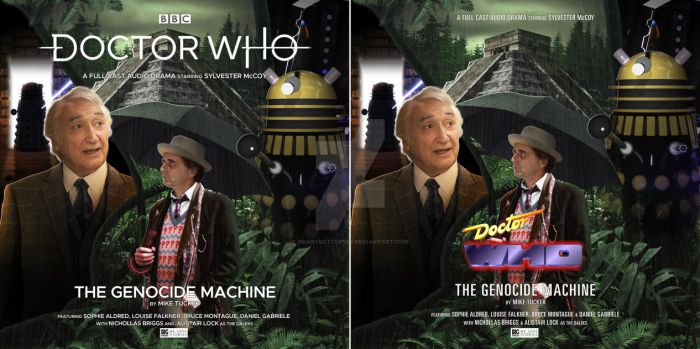Doctor Who - The Genocide Machine Big Finish Cover by GrantBattersby