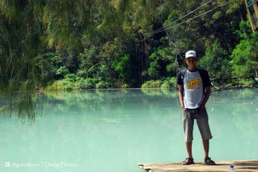 The Colorful Lake, Dieng by gat0t