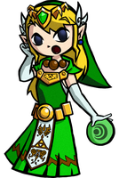 Link Maid TG Wind Waker Style by Watrudoin