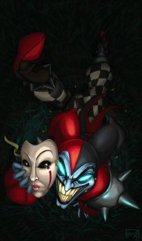 Shaco by PoisonousFox