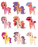 Mlp adopts lowered price by CookieDoArt