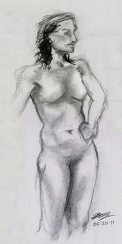 Figure Drawing 1 by Kanosui